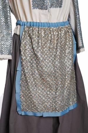 Vintage Romanian Sequins Apron