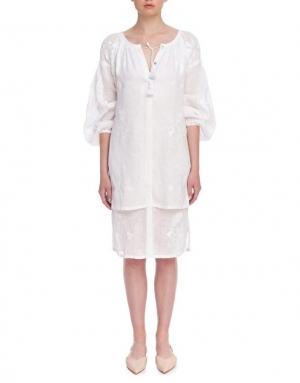 "Vyshyvanka blouse ""White orchid"" Foberini"