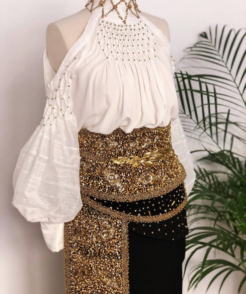 Beads corset belt Ie Clothing