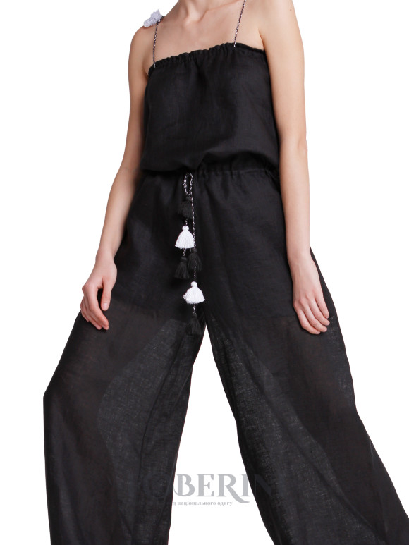 "Black overall ""Summer Night"""