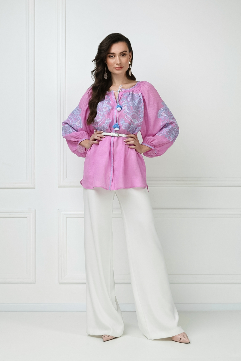Bohemian blouse Victory Pink