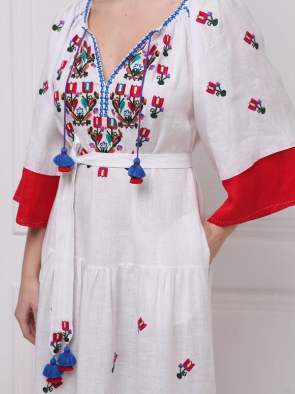 Rochie bohemian luxury  Omelia Chic maxi dress Foberini