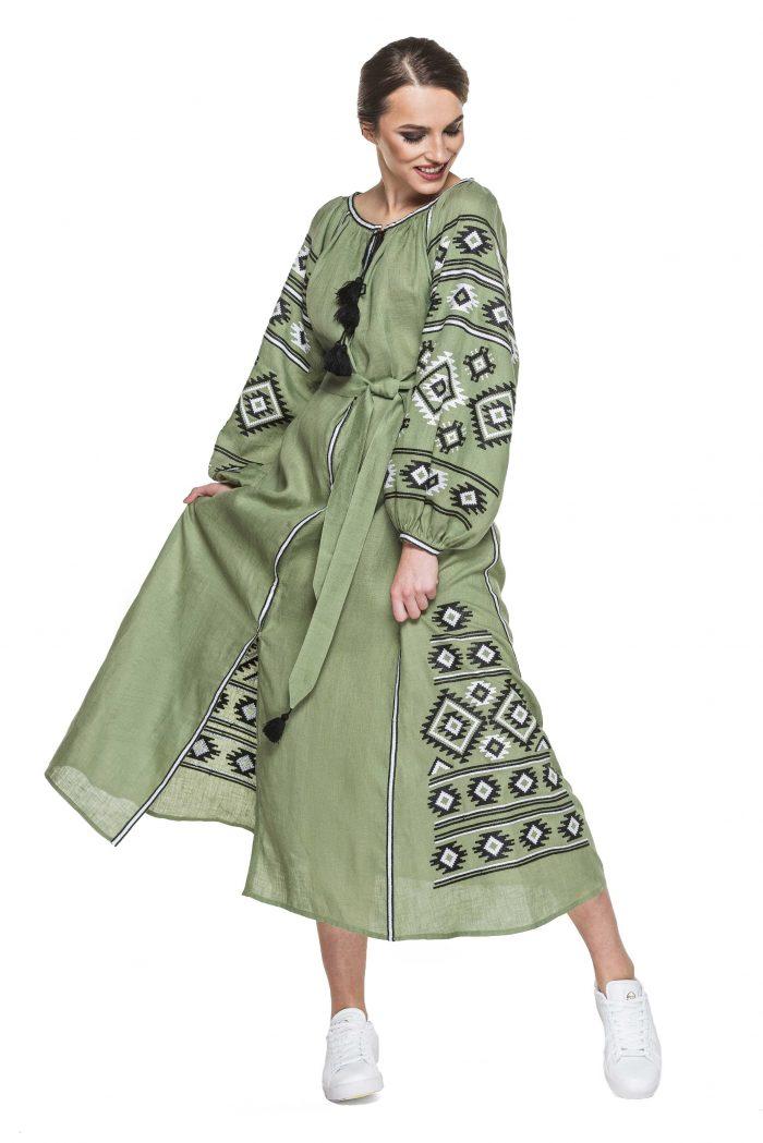 Bohemian Vyshyvanka modern Ukranian dress Bazena