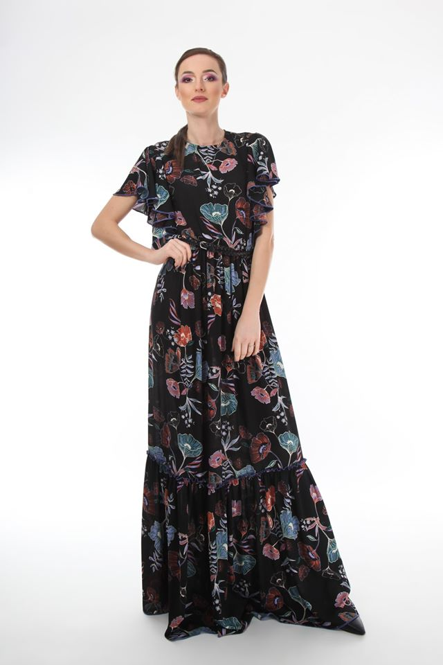 Boho chic floral ONIBON FASHION