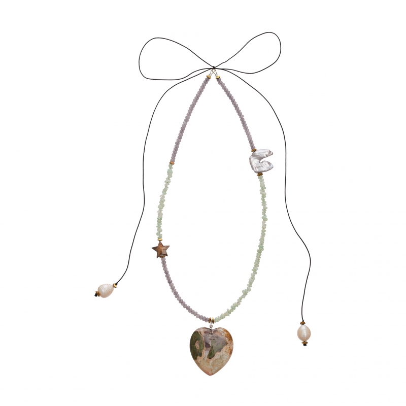 Boho Heart Necklace