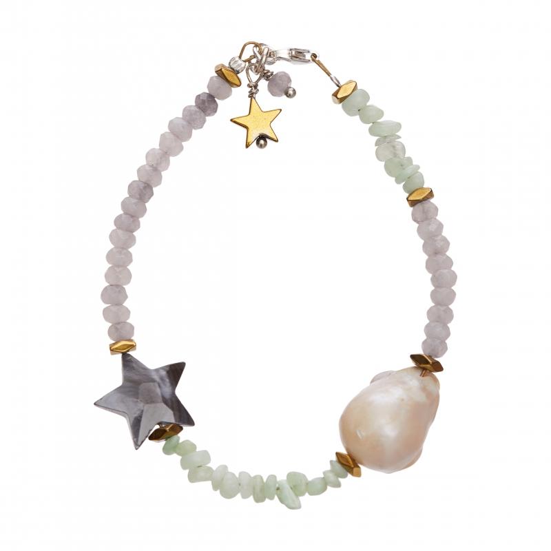 Boho Pearls Bracelet