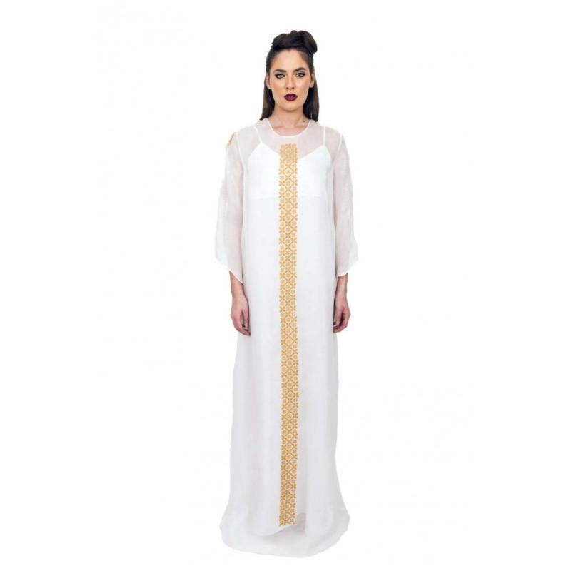 Boho Silk Handmade Dress