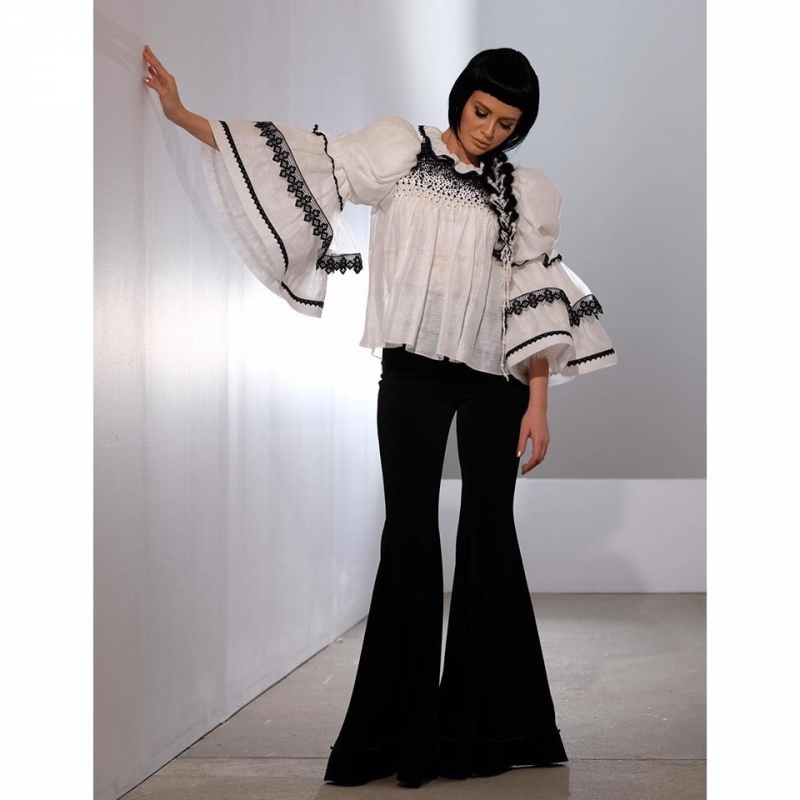 Contemporary Romanian Blouse Osana Ie Clothing