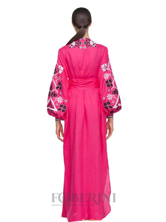 "Dress-embroidery kimono ""Edelweiss"" Foberini"