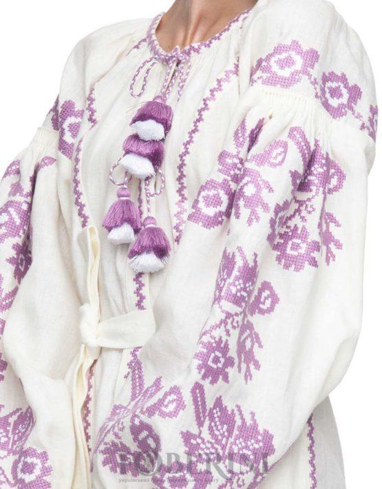 "Dress-embroidery ""Melania"""