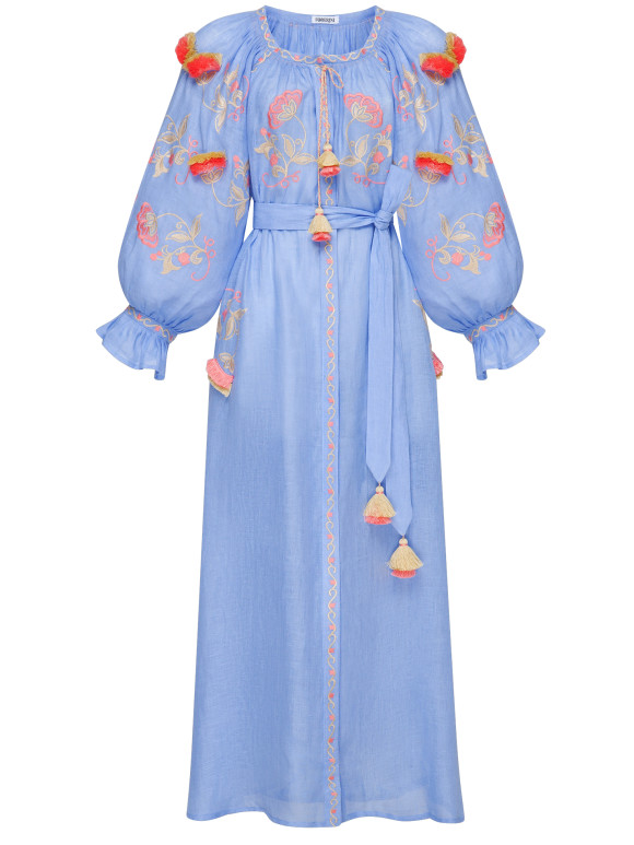 "Dress-embroidery ""Sunrise"""