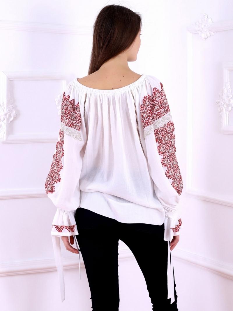 Bluza ie moderna stilizata model Royal Florii