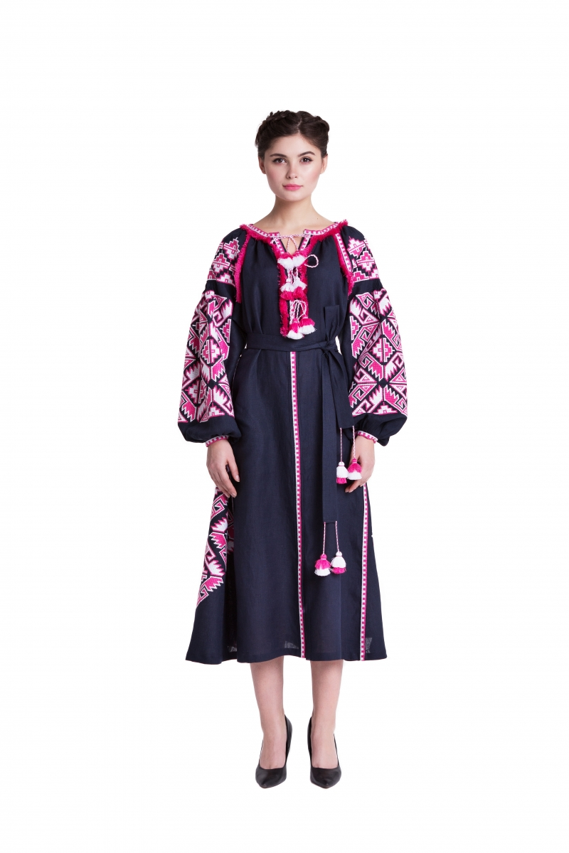 "Embroidered Dress ""Adamant"" Foberini"