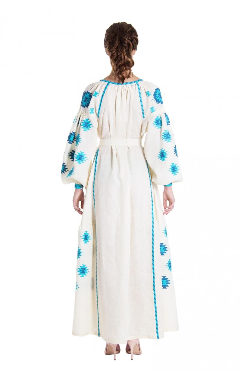 Embroidered dress AURORA
