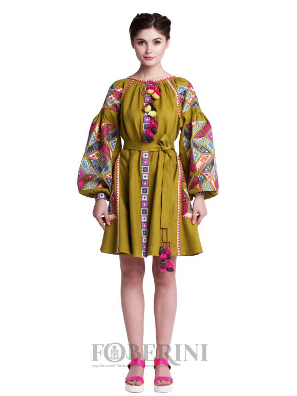 "Embroidered Dress ""Lyalya"""