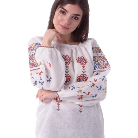 Embroidered  Ethnic Blouse Moldova