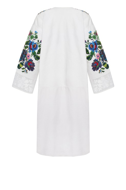 Folklore Long Shirt Summer Blooming Summer