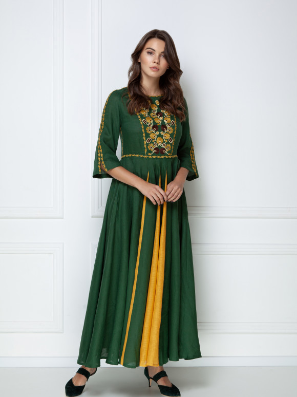GreenMaxi Dress Mary