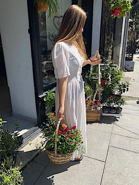 Handmade Rustic Transilvanian Cinderella Dress