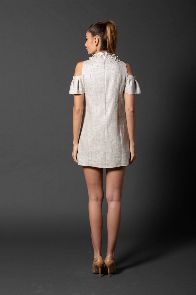 IE CLOTHING SILVER Dress