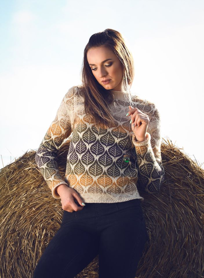 Knit Sweater Don't Leaf Me ONIBON FASHION