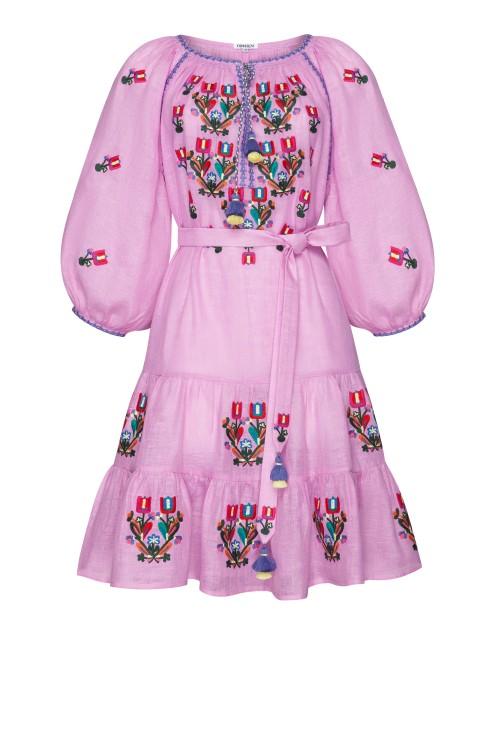 """""""Omelia Сhic"""" lilac mini dress"""