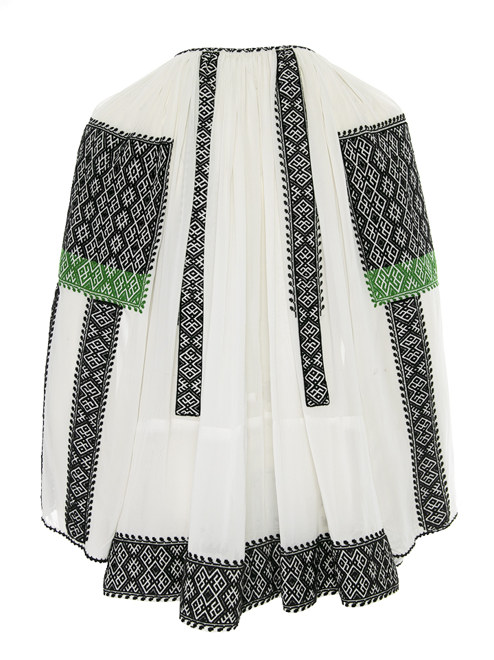 One of kind traditional Romanian blouse Transylvania Mures 50s