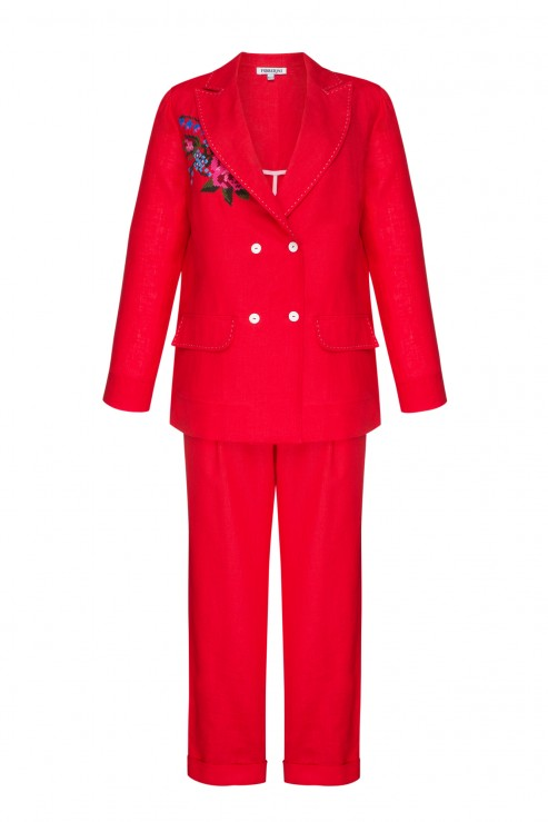 RED ROSE COSTUME FOBERINI