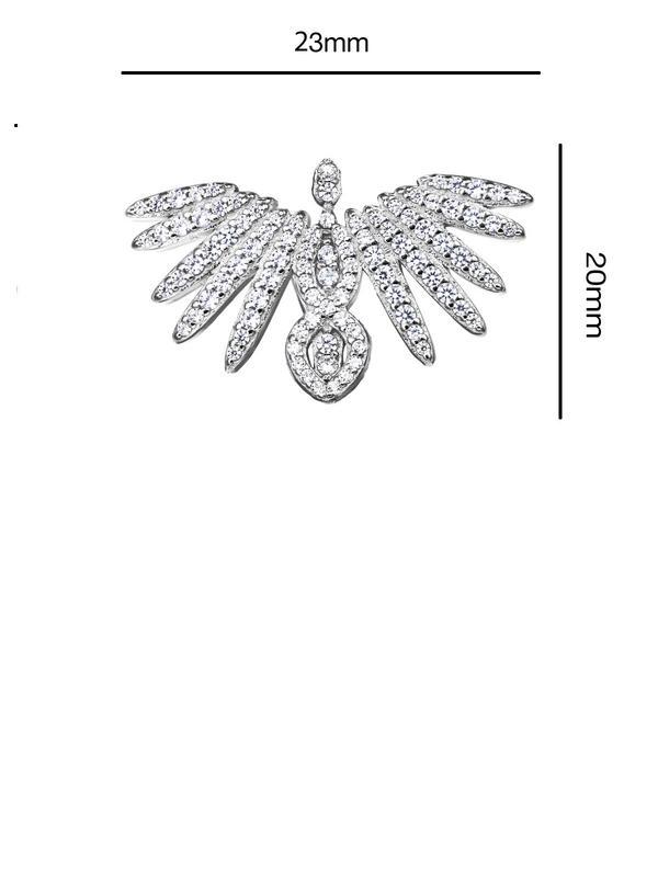 Brosa argint Phoenix
