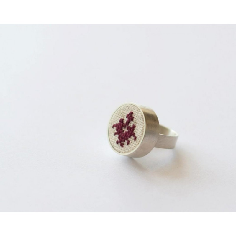 Silver Ring Bucovina