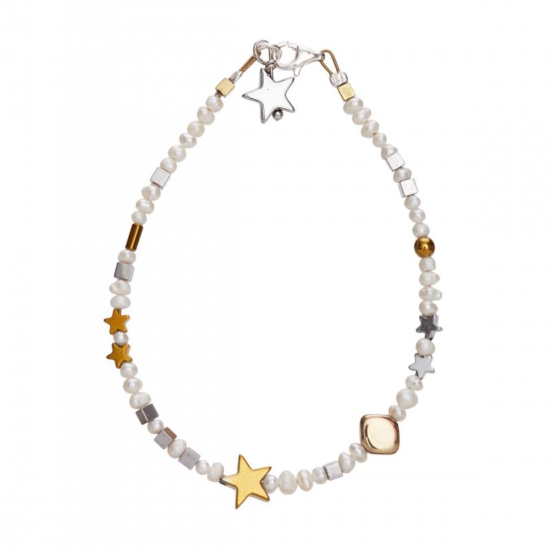 Starry Pearls Bracelet