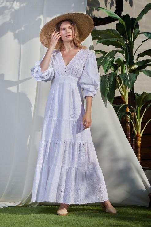 Foberini Swan white dress