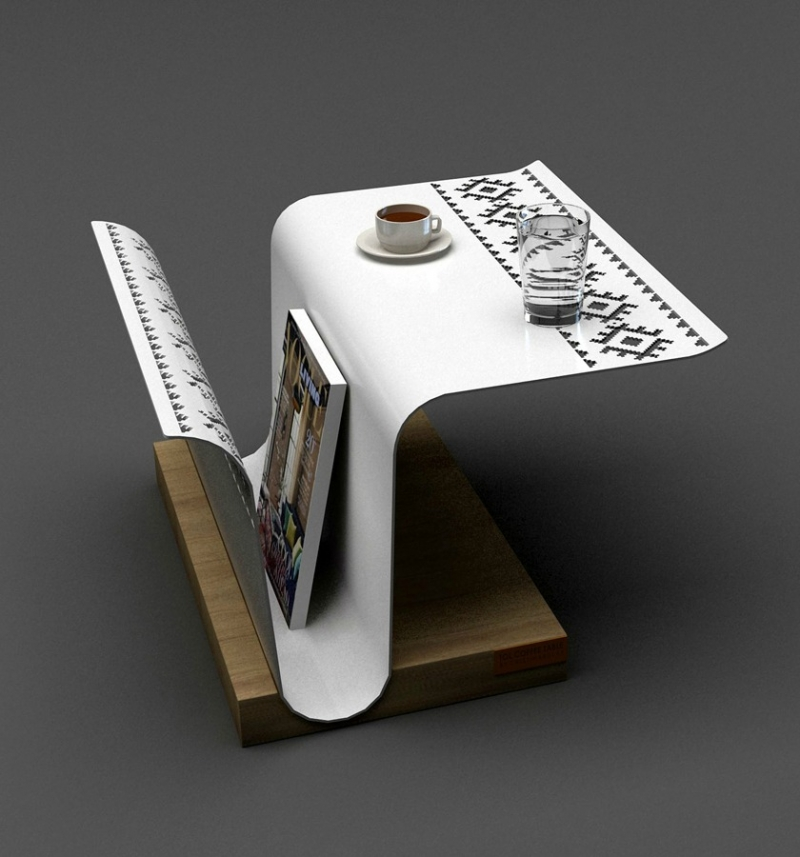 Tol design table by Cristina Bulat