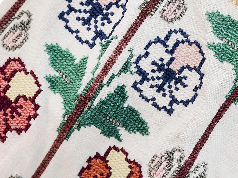 Ie Vintage Motive Florale