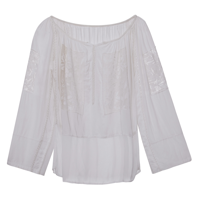 Vintage White Romanian Blouse SOLD