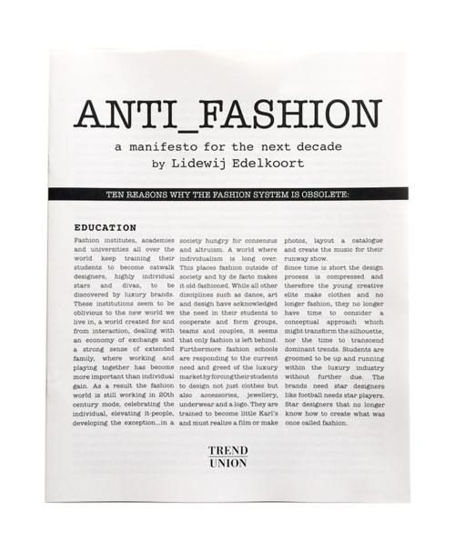 anti fashion