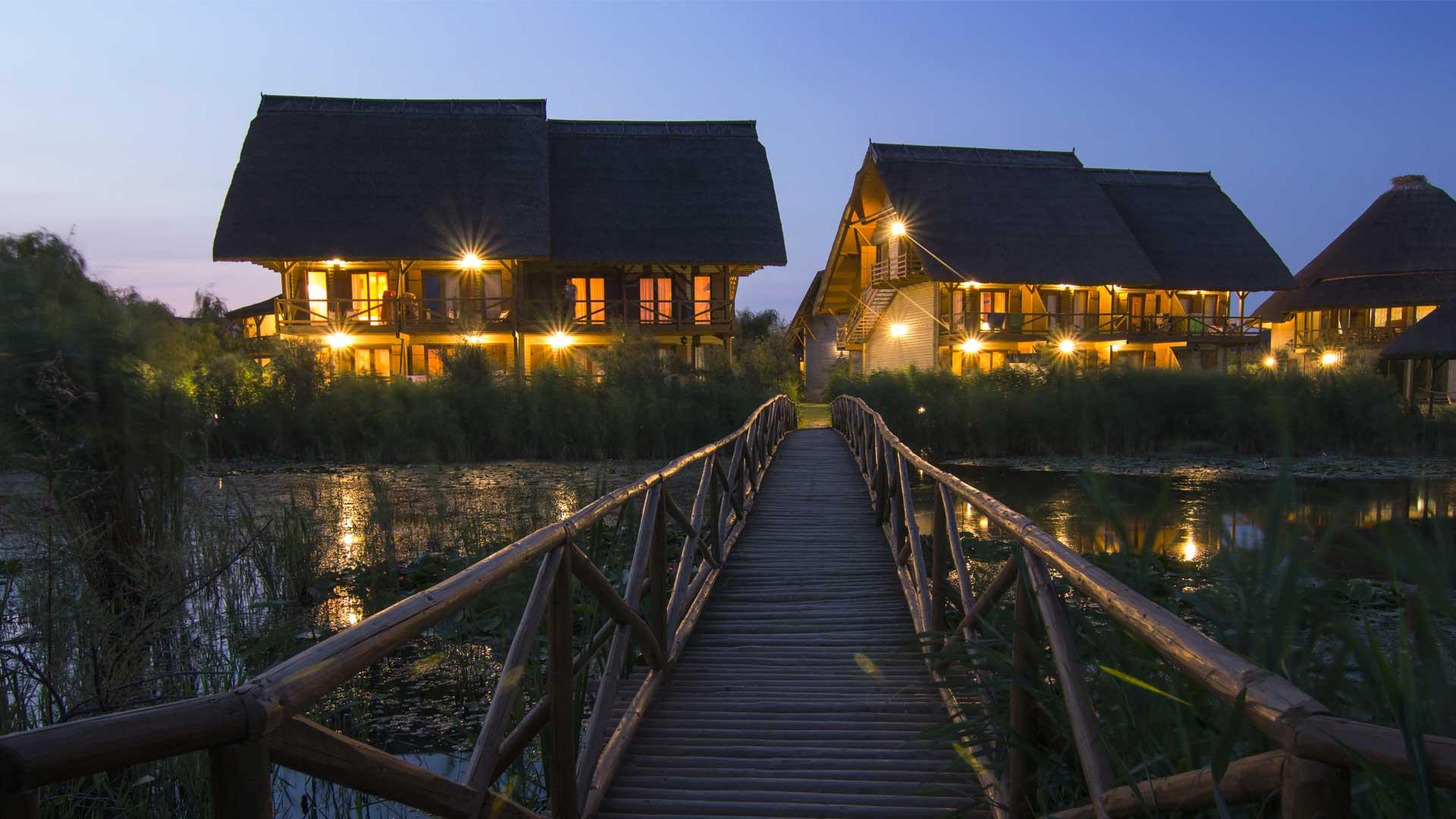 Delta Dunarii, resort Green Village